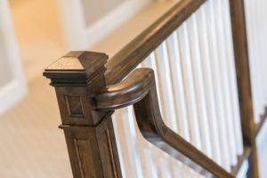 Exquisite Stairway Accents Provide Elegant Details to Homes